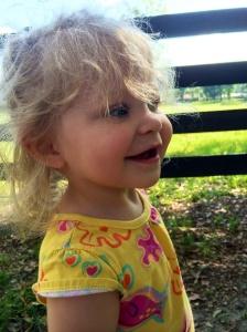 sweet, amazing, precious niecey-poo  (1.5 yrs old)